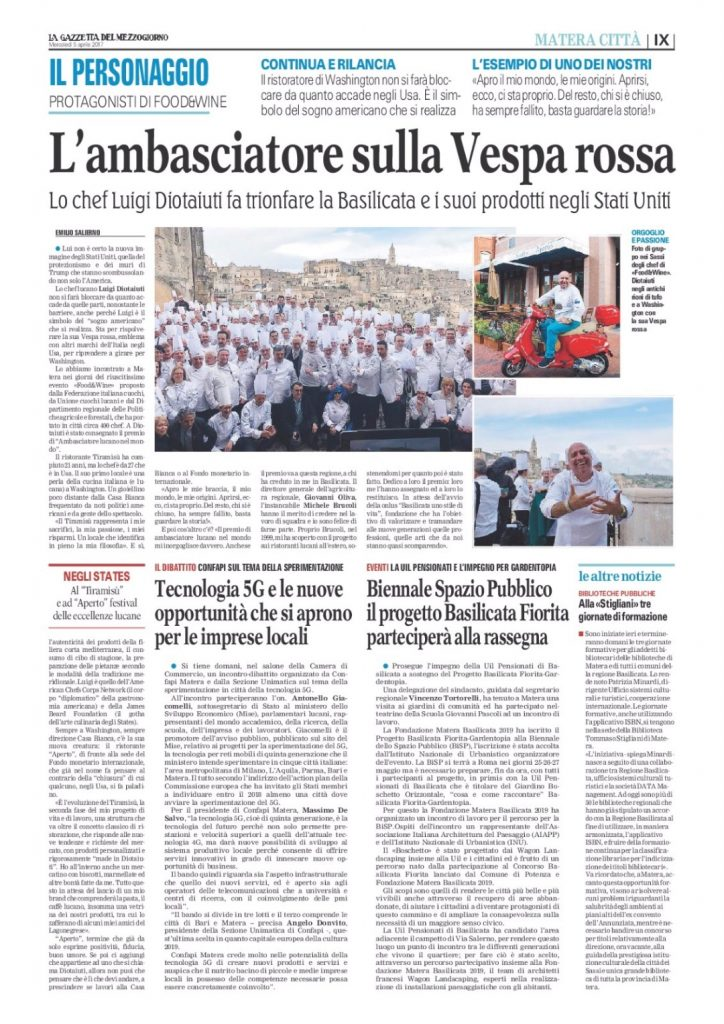 Making Headlines in Italy